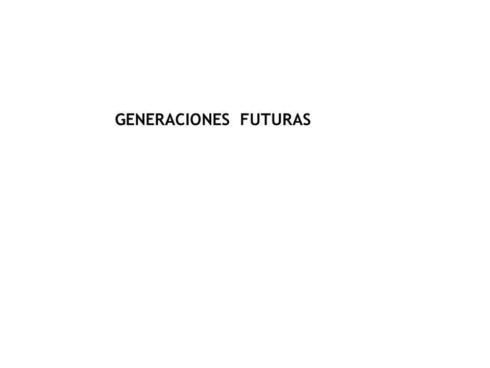 GENERACIONES FUTURAS