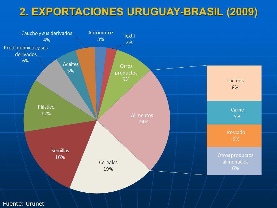 2. IMPORTACIONES URUGUAY-BRASIL (2009)