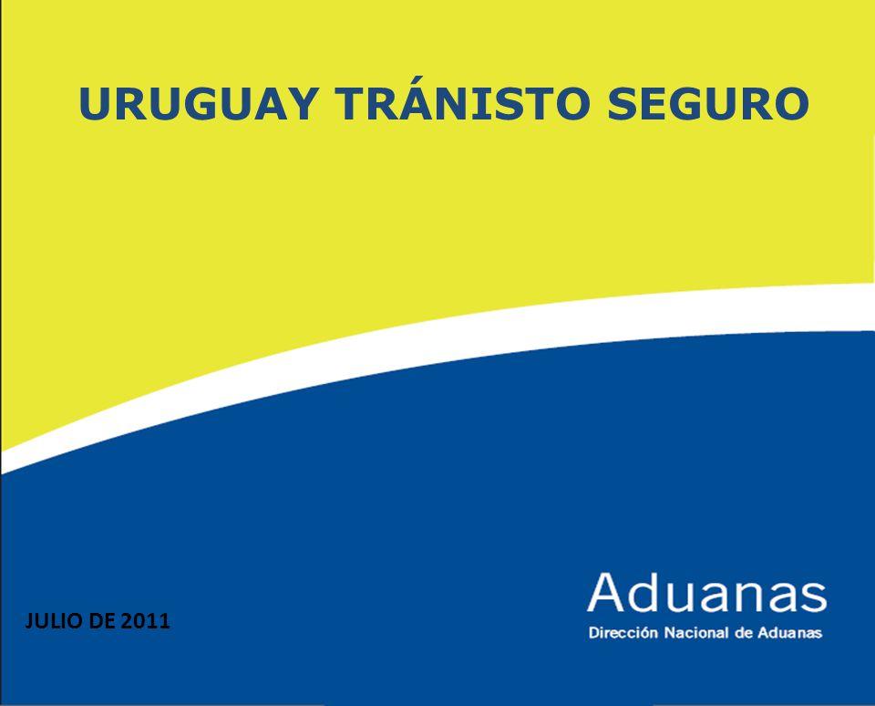 URUGUAY TRÁNISTO SEGURO JULIO DE 2011