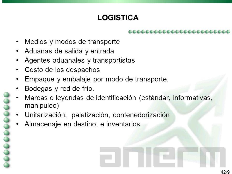 41/9 LA COMERCIALIZACION - Seleccionar al comprador o distribuidor - Catálogos -La cotización (incoterms); la negociación; y el cierre. -Promoción, ma