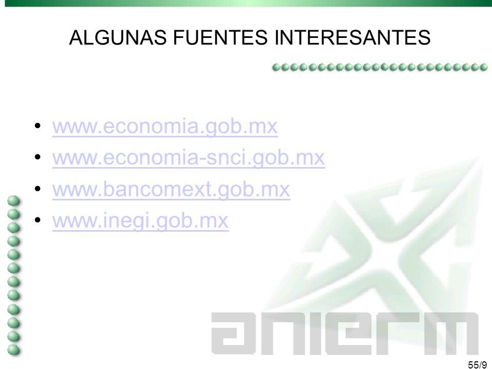 54/9 OPORTUNIDADES DE INTERNACIONALIZACIÓN EN MÉXICO