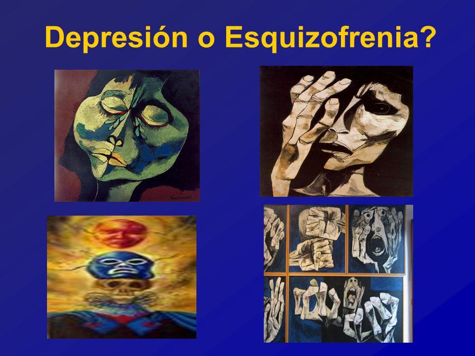 Depresión o Esquizofrenia?