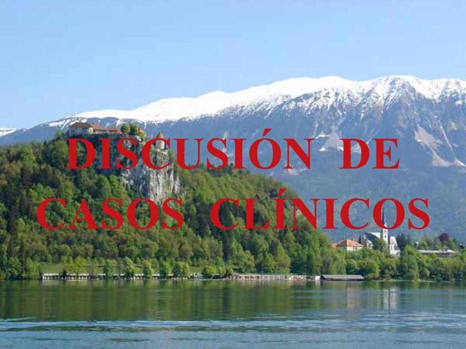DISCUSIÓN DE CASOS CLÍNICOS