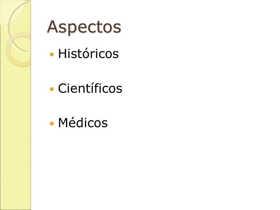 Aspectos Históricos Científicos Médicos