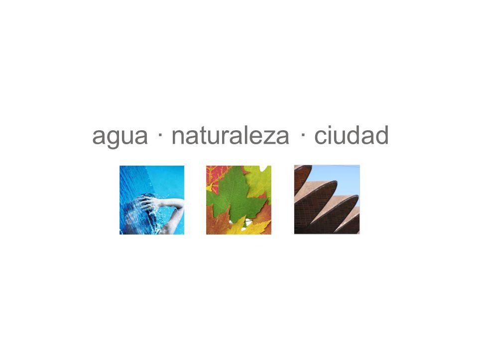 agua · naturaleza · ciudad