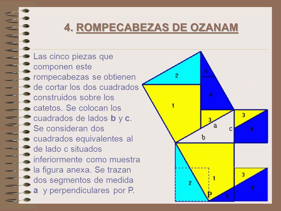 Por tanto igualando las dos expresiones se obtiene: En el cuadrado superior tenemos: En la figura inferior tenemos: