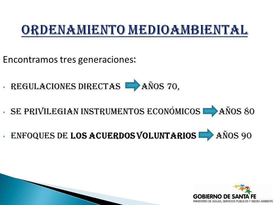 1) Sistema de gestión ambiental 2) Compromiso con el medio ambiente.