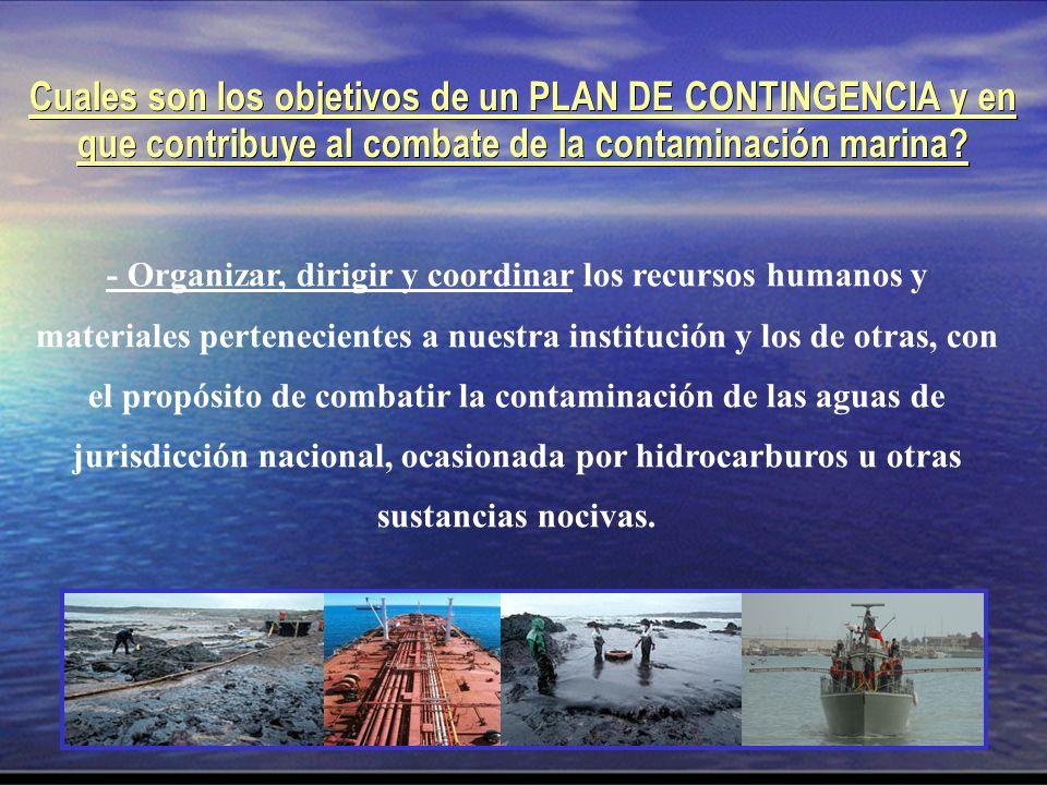 - Organizar, dirigir y coordinar los recursos humanos y materiales pertenecientes a nuestra institución y los de otras, con el propósito de combatir l