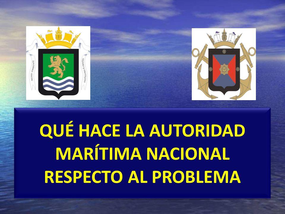 PREVENCIÓN: Controles del Estado de Abanderamiento, Estado Rector del Puerto y Estado Ribereño, a buques de bandera nacional y extranjeras.