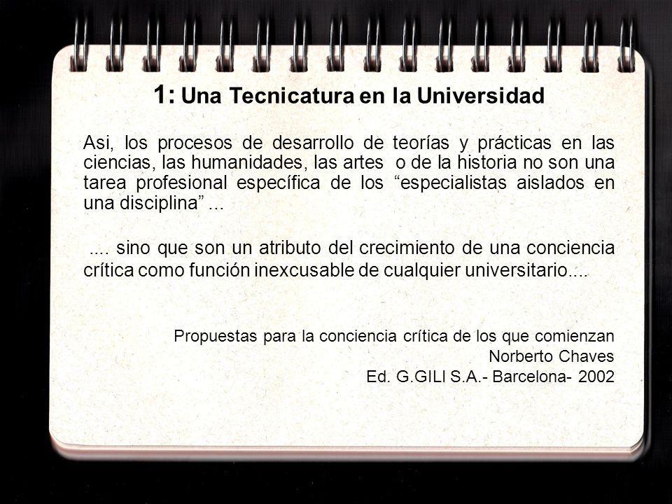 2: El Plan de Estudios de Fac.Artes - UdelaR ART.