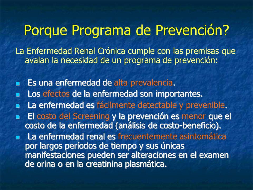 Porque Programa de Prevención.