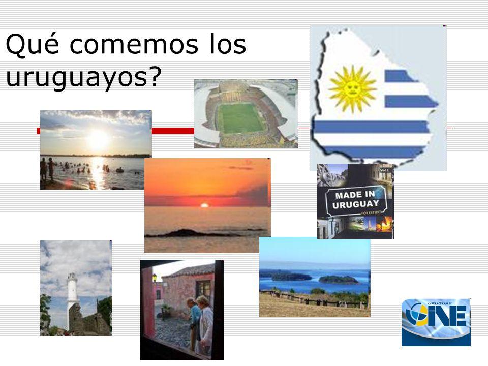 Qué comemos los uruguayos?