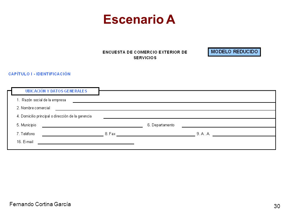 Fernando Cortina García 30 Escenario A