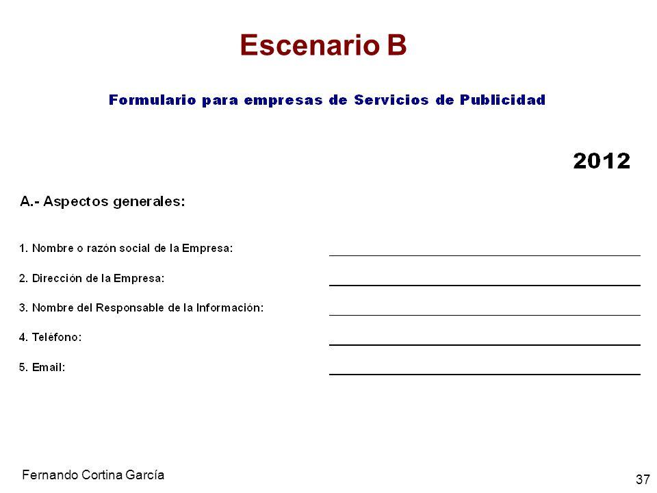 Fernando Cortina García 37 Escenario B