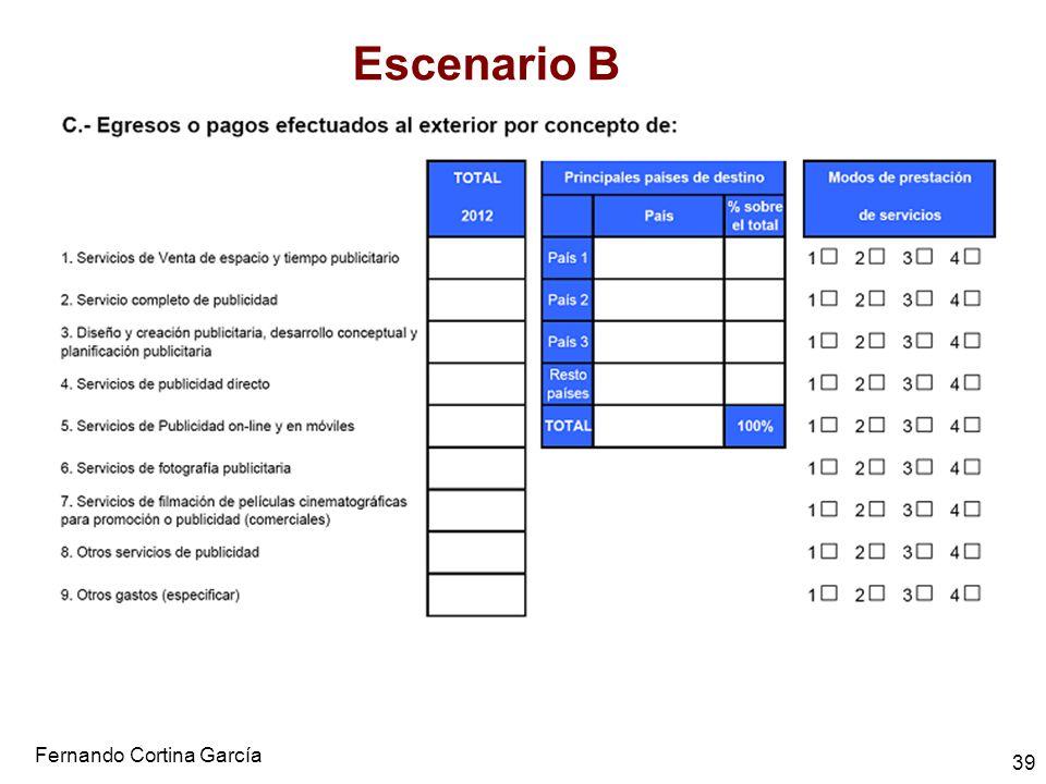 Fernando Cortina García 39 Escenario B