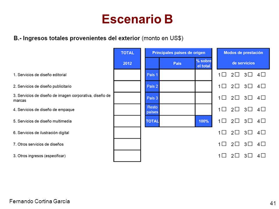 Fernando Cortina García 41 Escenario B