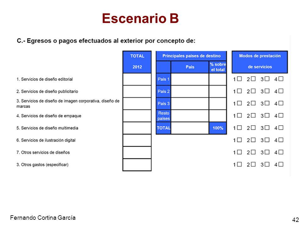 Fernando Cortina García 42 Escenario B
