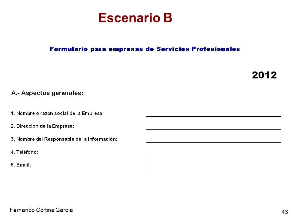 Fernando Cortina García 43 Escenario B