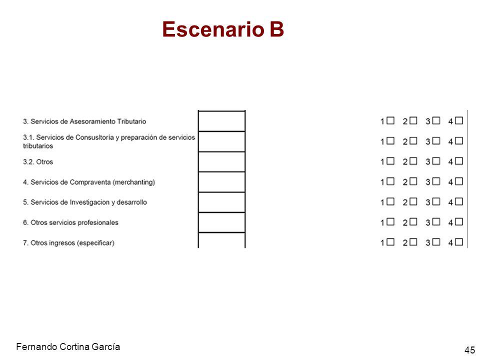 Fernando Cortina García 45 Escenario B