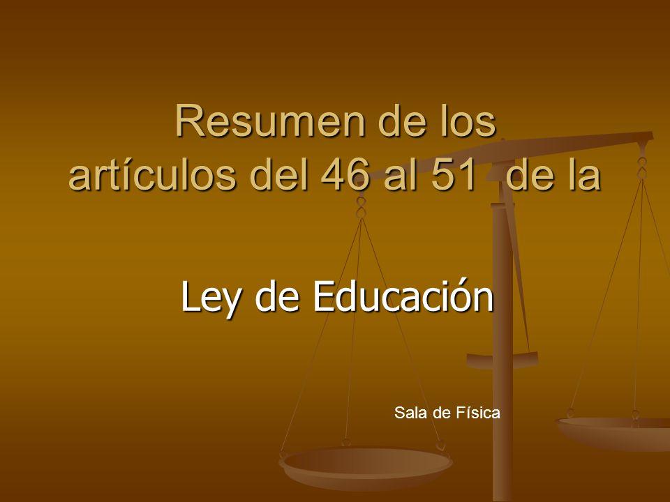 CAPÍTULO IX: Artículos 72-73-74 Derechos y deberes de los educandos y alumnas embarazadas Derechos de los educandos A.