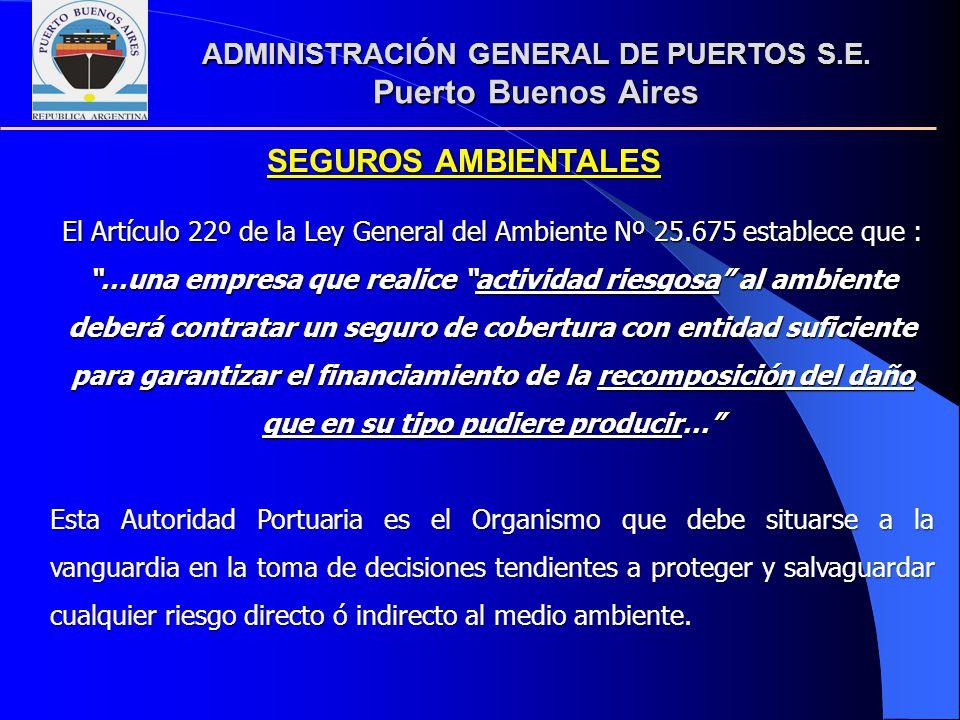 ADMINISTRACIÓN GENERAL DE PUERTOS S.E.