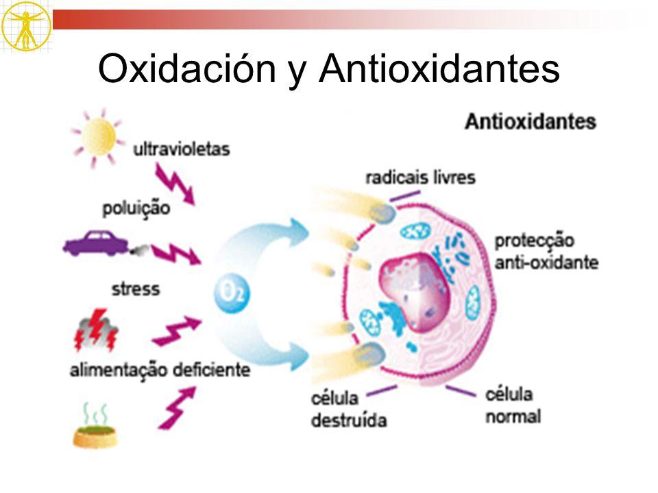 Oxidación y Antioxidantes