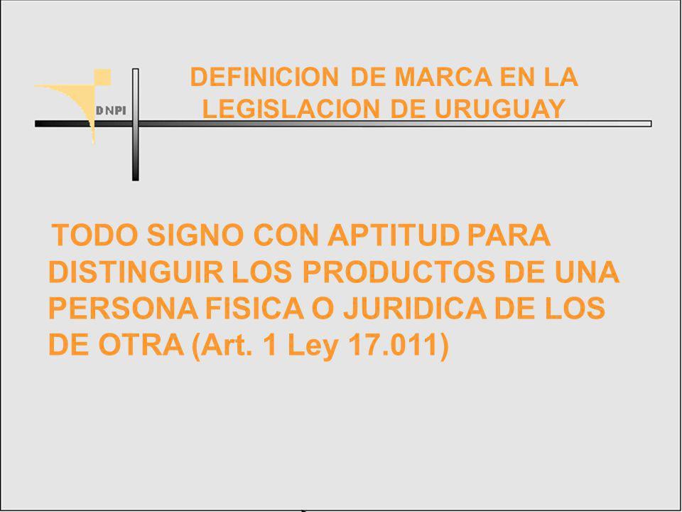 TODO SIGNO CON APTITUD PARA DISTINGUIR LOS PRODUCTOS DE UNA PERSONA FISICA O JURIDICA DE LOS DE OTRA (Art.