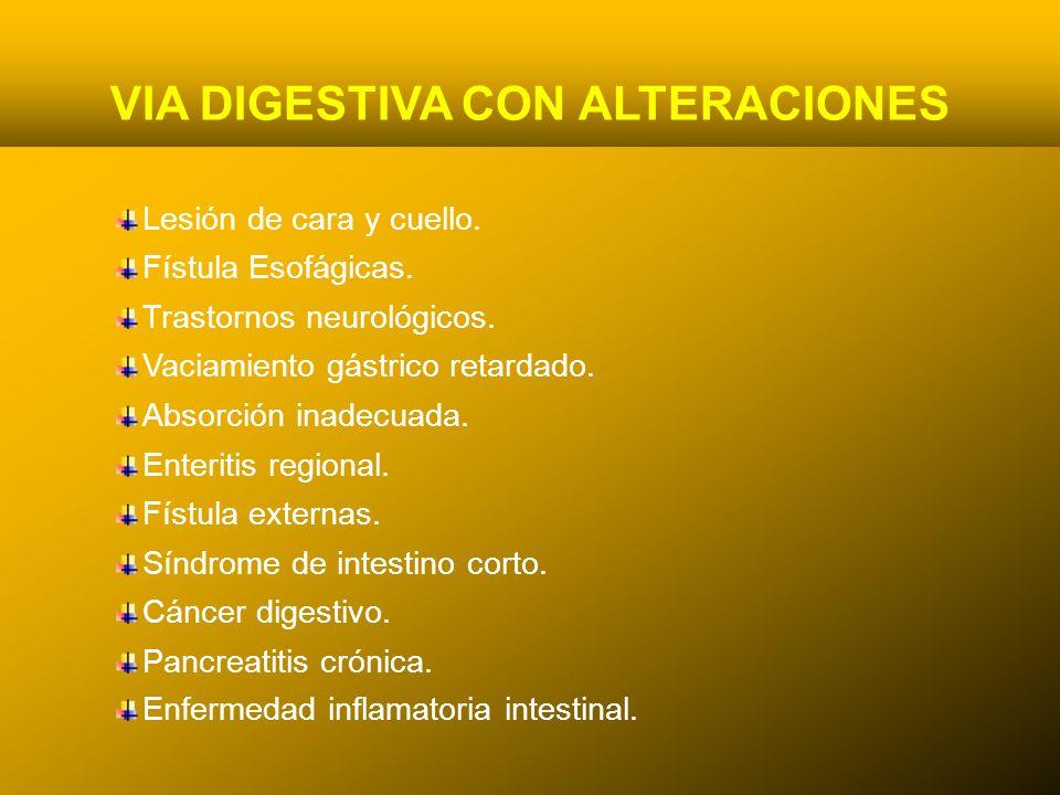 24/03/12 VIA DIGESTIVA CON ALTERACIONES Lesión de cara y cuello.