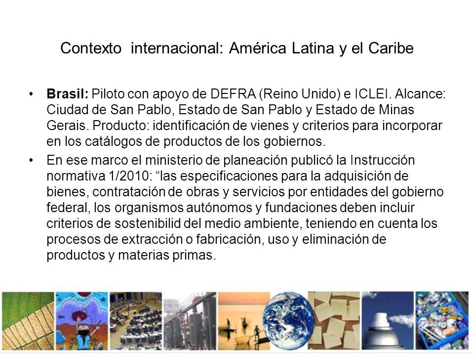 Argentina: Proyecto Compras Públicas Sustentables en la Ciudad de Buenos Aires.
