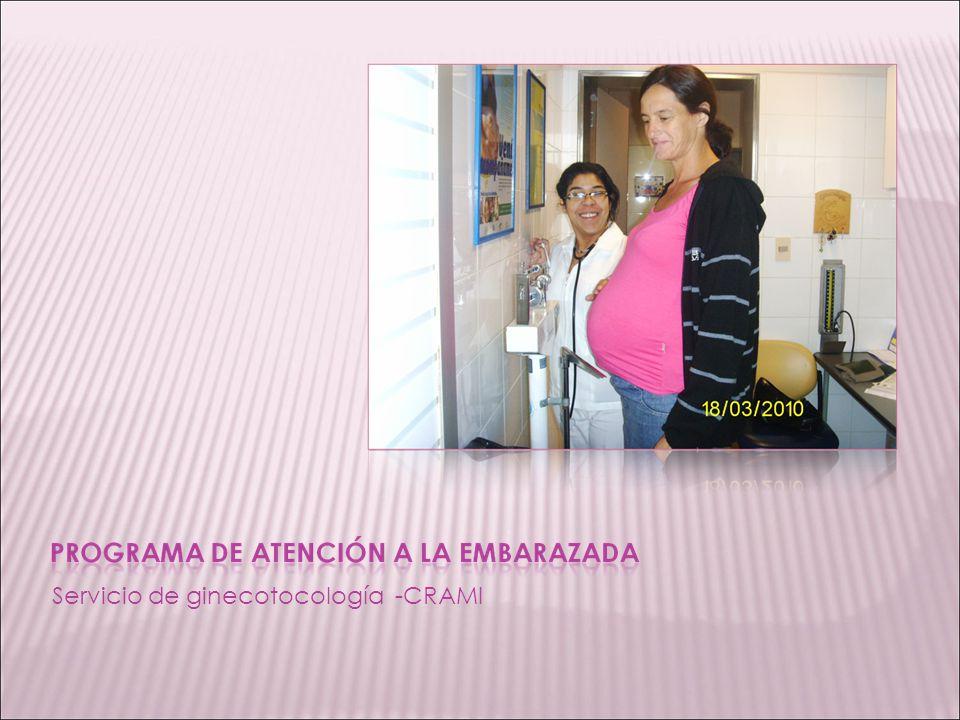 Servicio de ginecotocología -CRAMI
