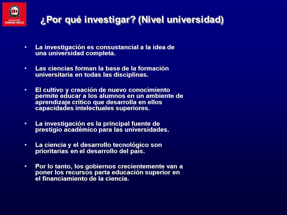 En América Latina, el grueso de la investigación la hacen los centros académicos, no la empresa.