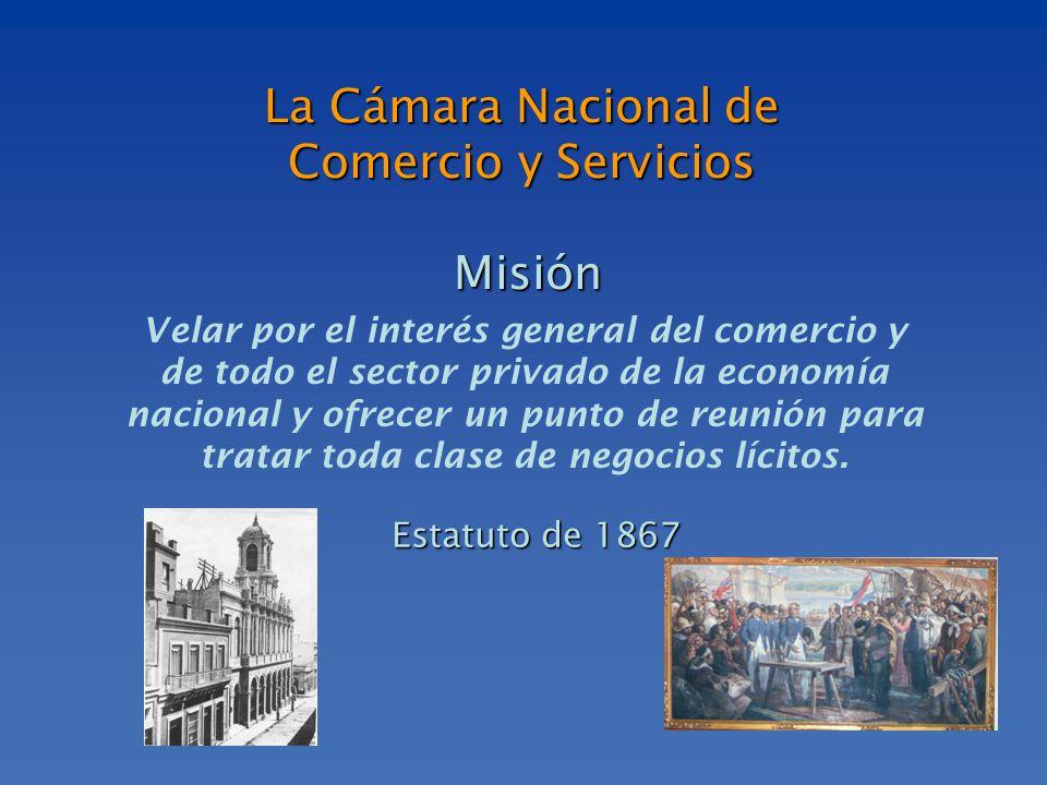 Velar por el interés general del comercio y de todo el sector privado de la economía nacional y ofrecer un punto de reunión para tratar toda clase de