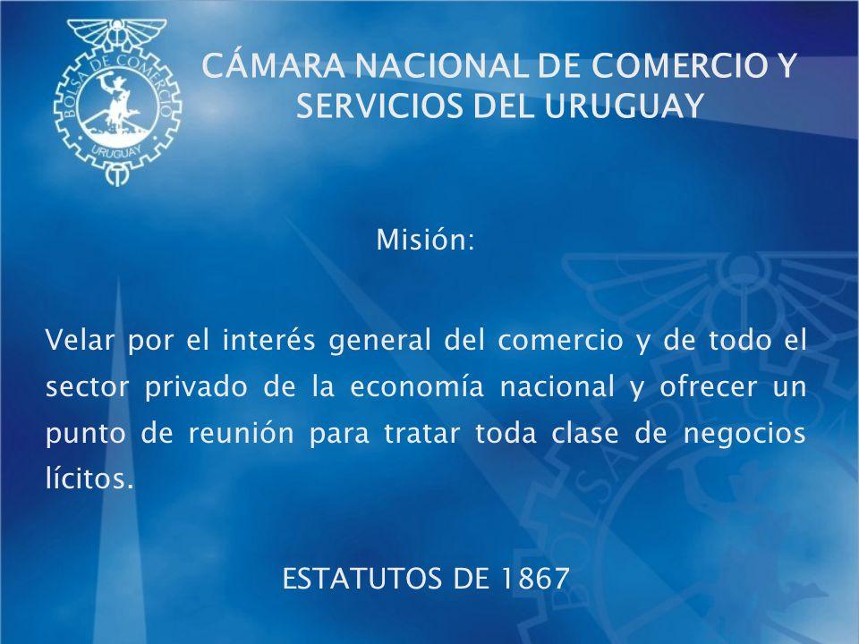 Misión: Velar por el interés general del comercio y de todo el sector privado de la economía nacional y ofrecer un punto de reunión para tratar toda c