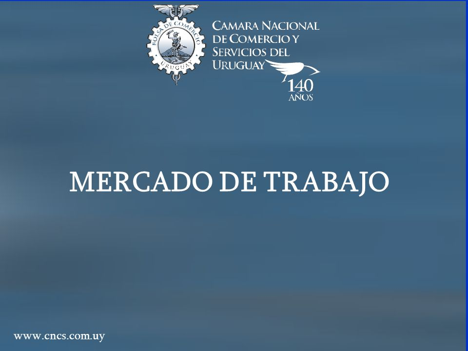 Mercado de Trabajo POBLACIÓN TOTAL URBANA MENOR DE 14 AÑOS MAYOR DE 14 AÑOS (P.M.14) INACTIVA ACTIVA (P.E.A.) DESOCUPADA (DES) OCUPADA (OCUP) TASA ACTIVIDAD = P.E.A/P.M.14 TASA DE EMPLEO = OCUP/P.M.14 TASA DE DESEMPLEO = DES/ P.E.A.