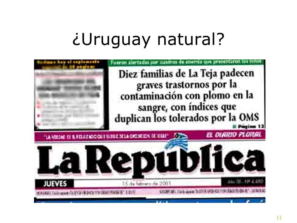 11 ¿Uruguay natural?