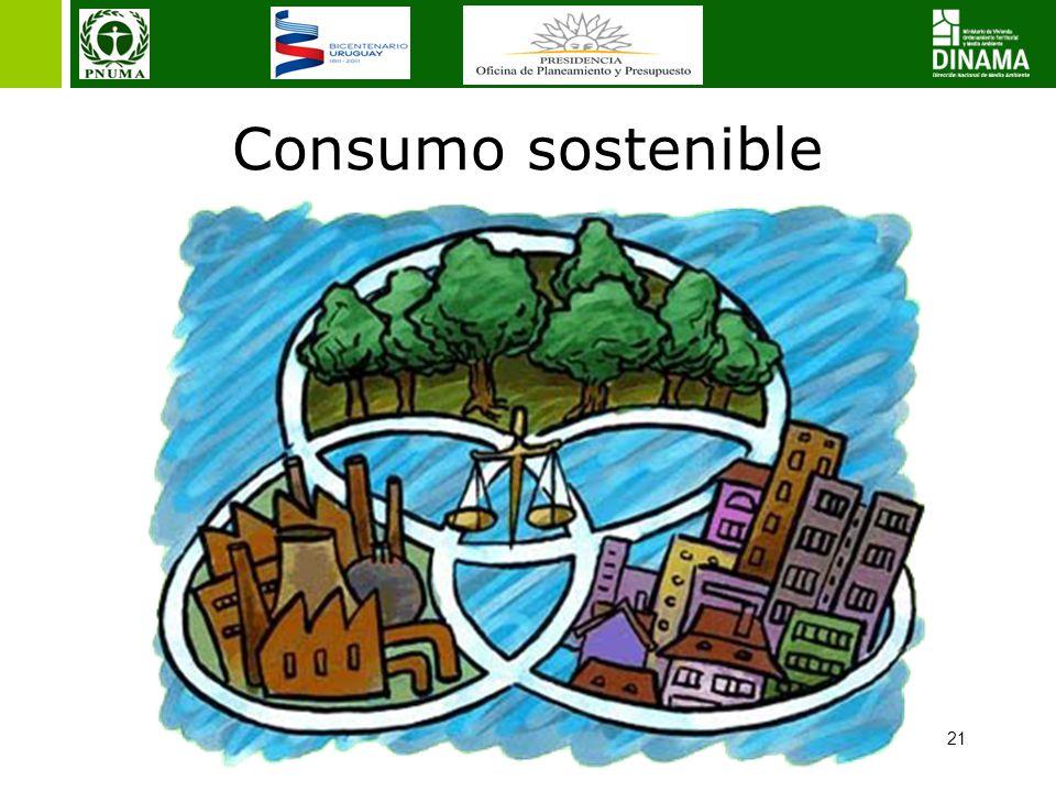 21 Consumo sostenible