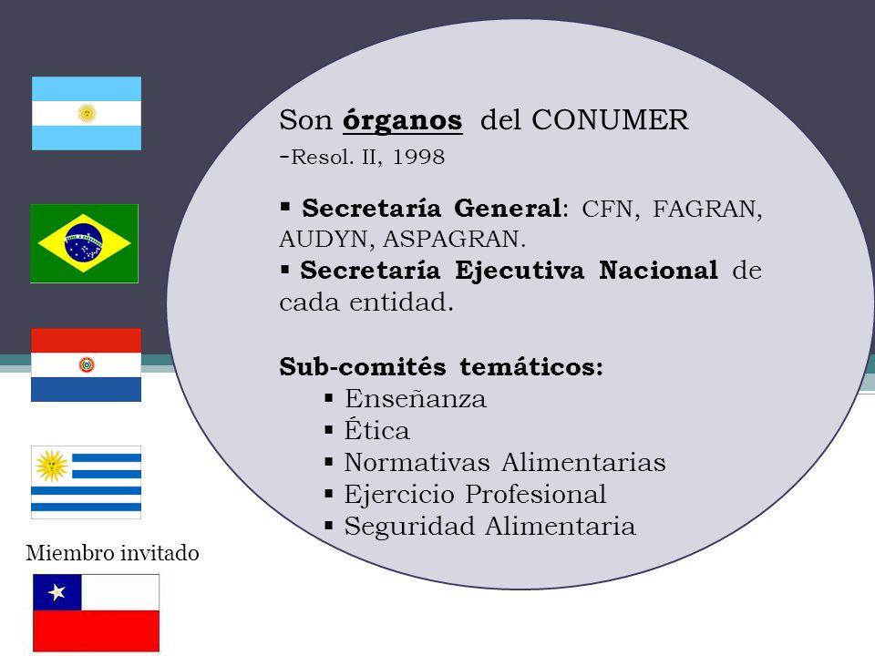 Es una referencia pr á ctica a todo color con definiciones de alimentos de consumo habitual en el MERCOSUR.