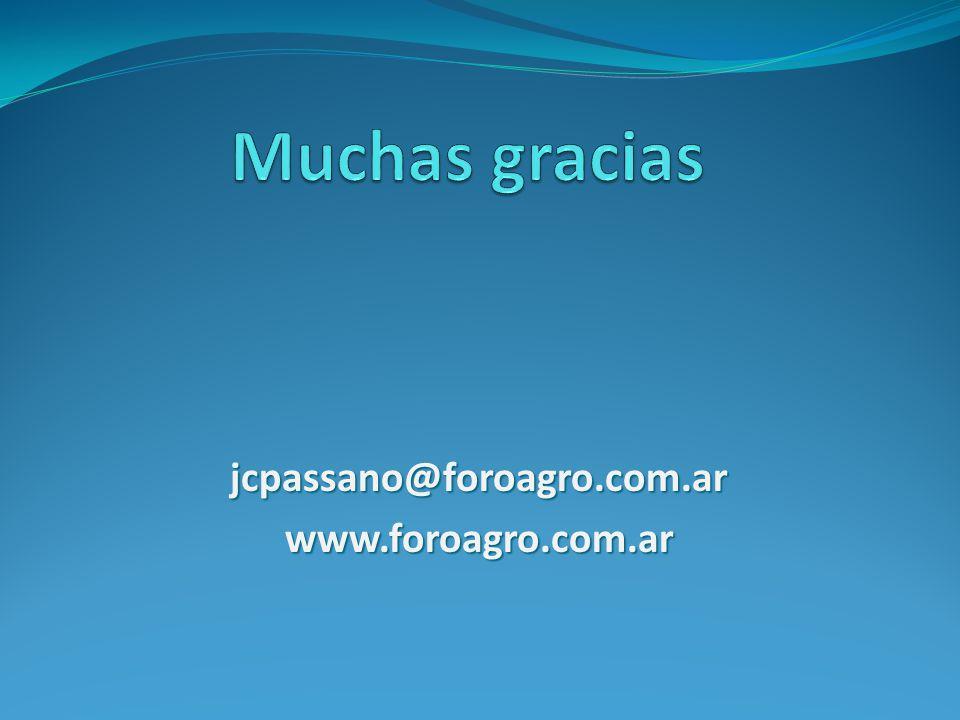 jcpassano@foroagro.com.arwww.foroagro.com.ar