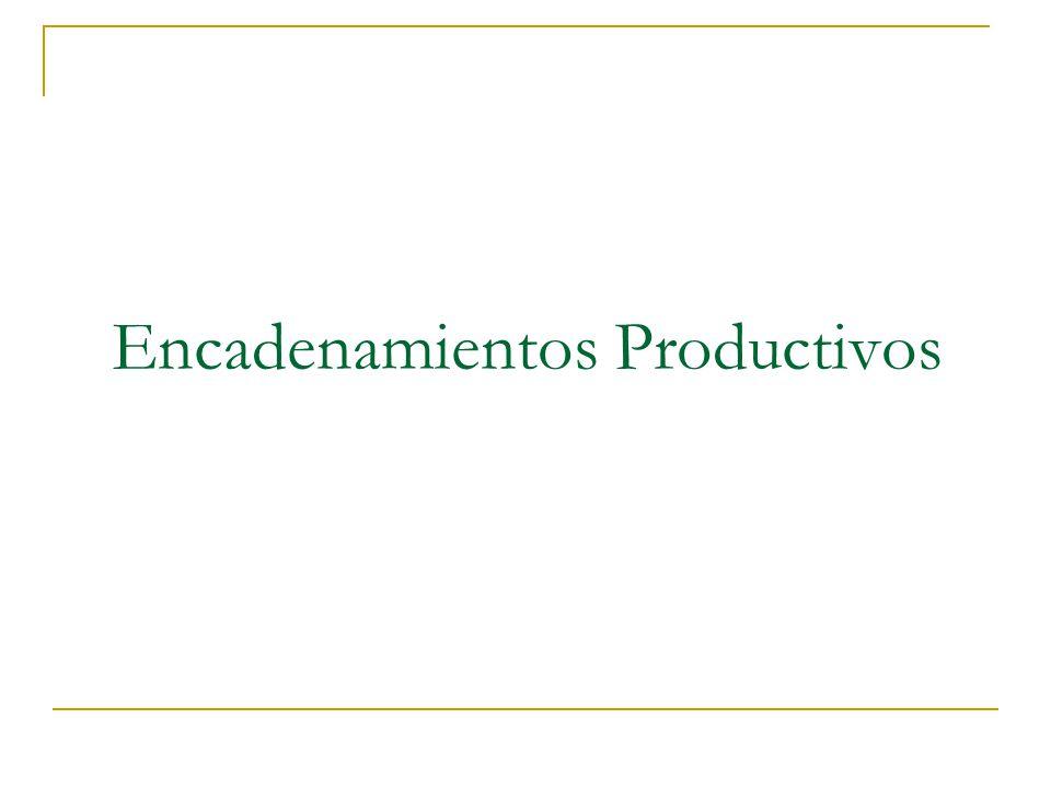 Elementos Fundamentales a Considerar para un Encadenamiento Productivo.