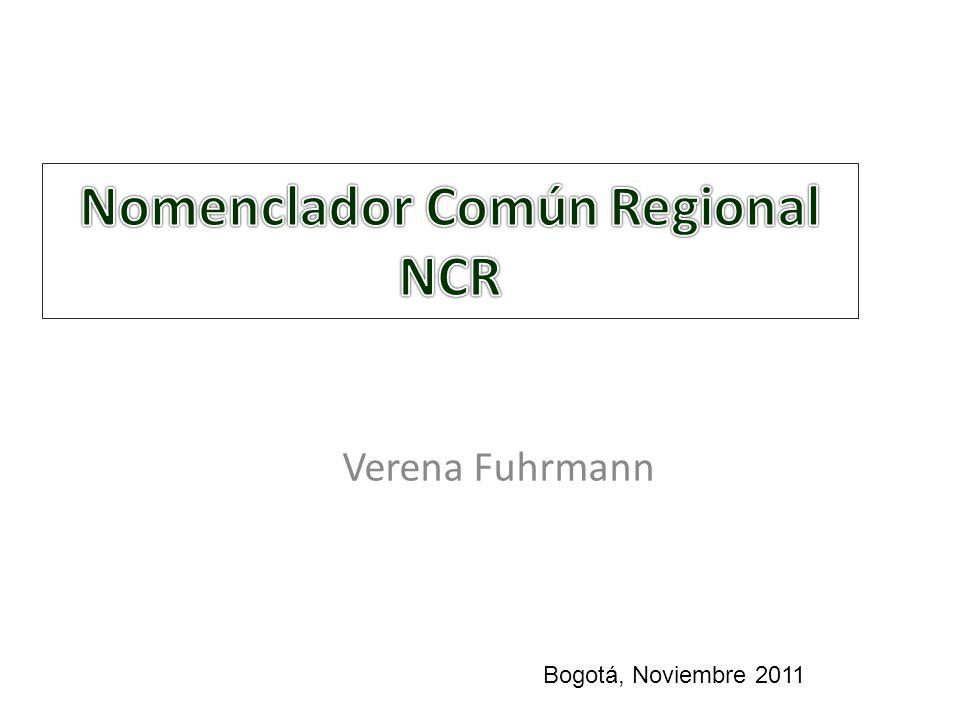 Verena Fuhrmann Bogotá, Noviembre 2011