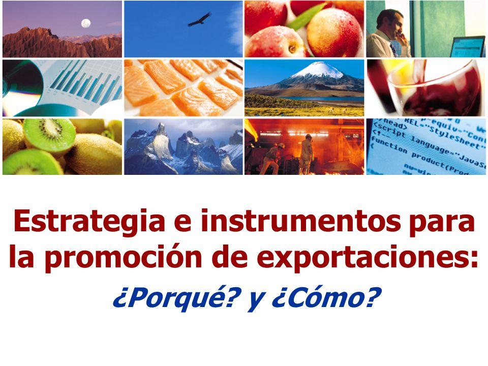 Estrategia e instrumentos para la promoción de exportaciones: ¿Porqué? y ¿Cómo?