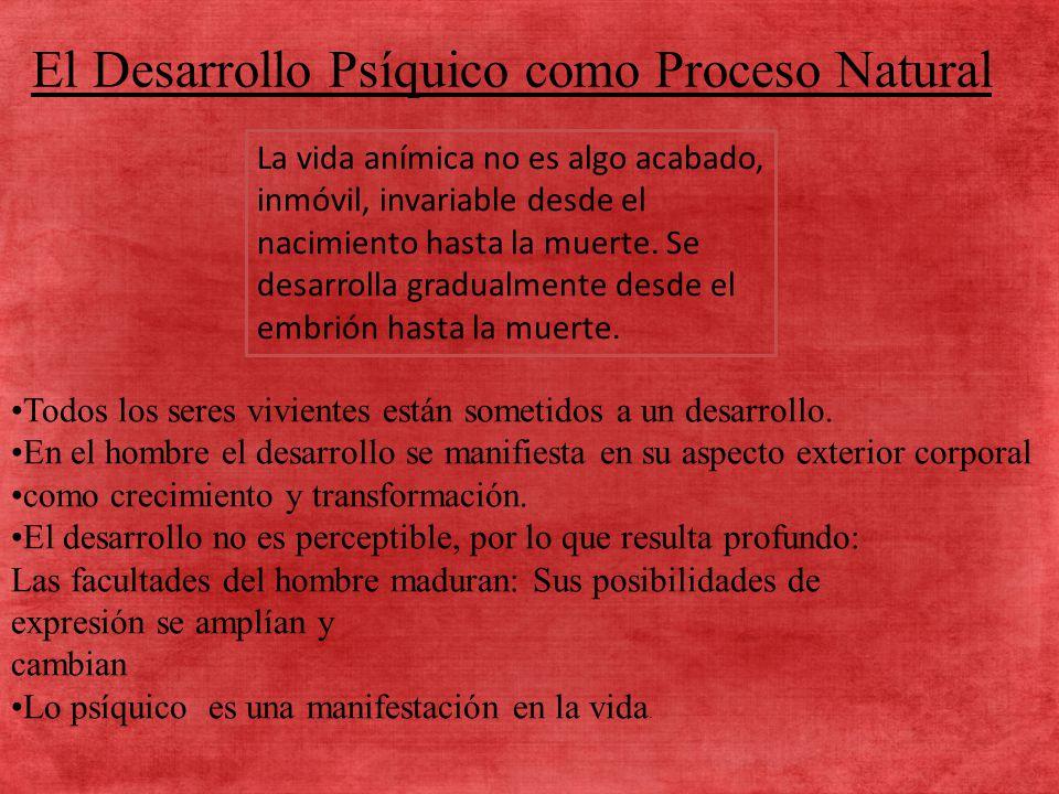 CONCEPTO DE DESARROLLO: Variación progresiva o irreversible de forma orgánica en el tiempo.
