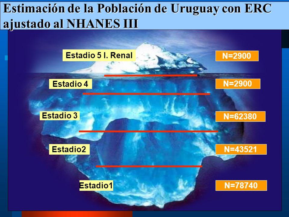 Enfermedad Renal Crónica Enfermedad Renal Crónica IRE Estadio 4 Estadio 3 Estadio 2 Estadio 1 FACTORES DE RIESGO: HTA, Diabetes, Añosos Prevención pri
