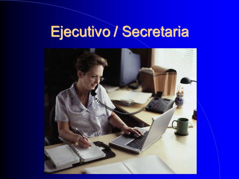 Ejecutivo / Secretaria