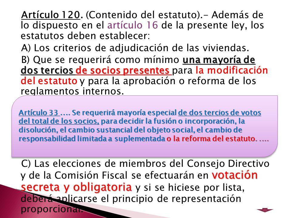 Artículo 120.