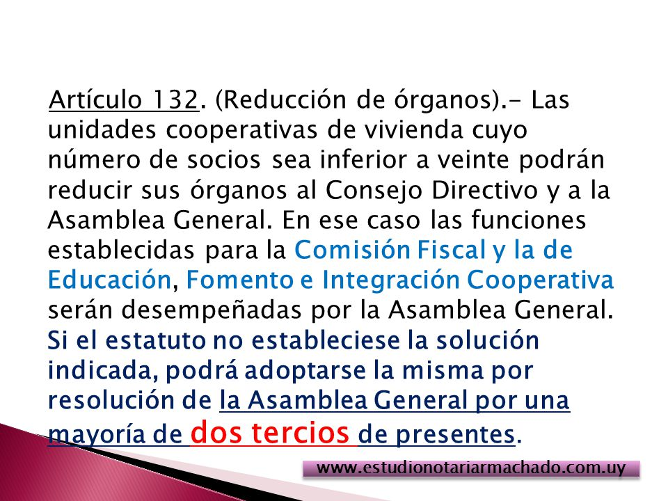 Artículo 132.