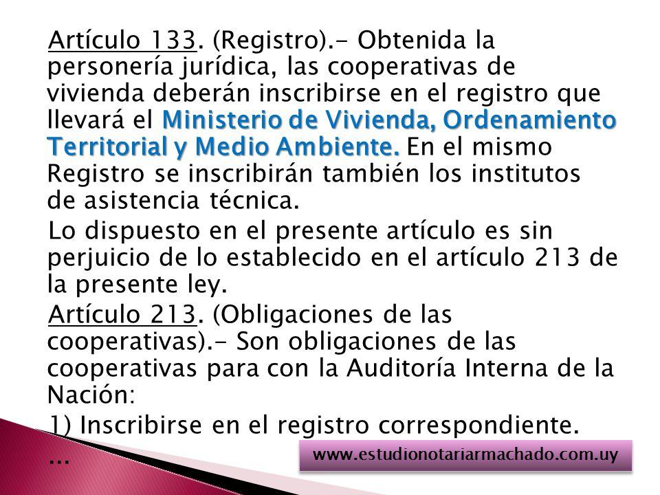 Ministerio de Vivienda, Ordenamiento Territorial y Medio Ambiente.