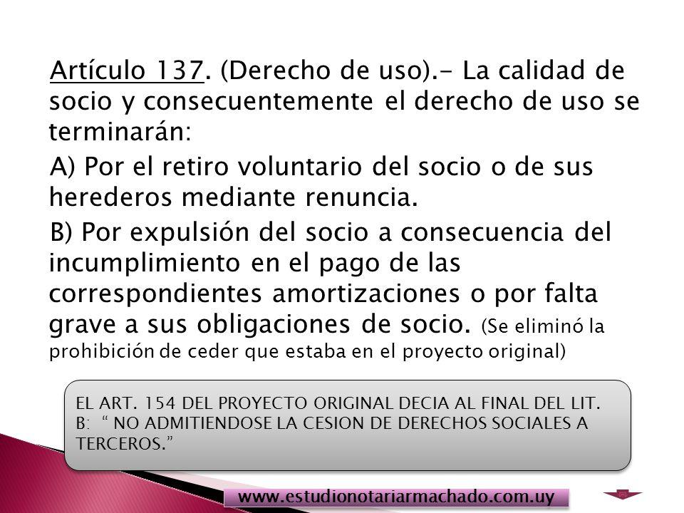 Artículo 137.