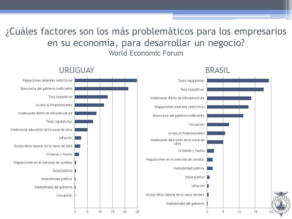 ¿Cuáles factores son los más problemáticos para los empresarios en su economía, para desarrollar un negocio.