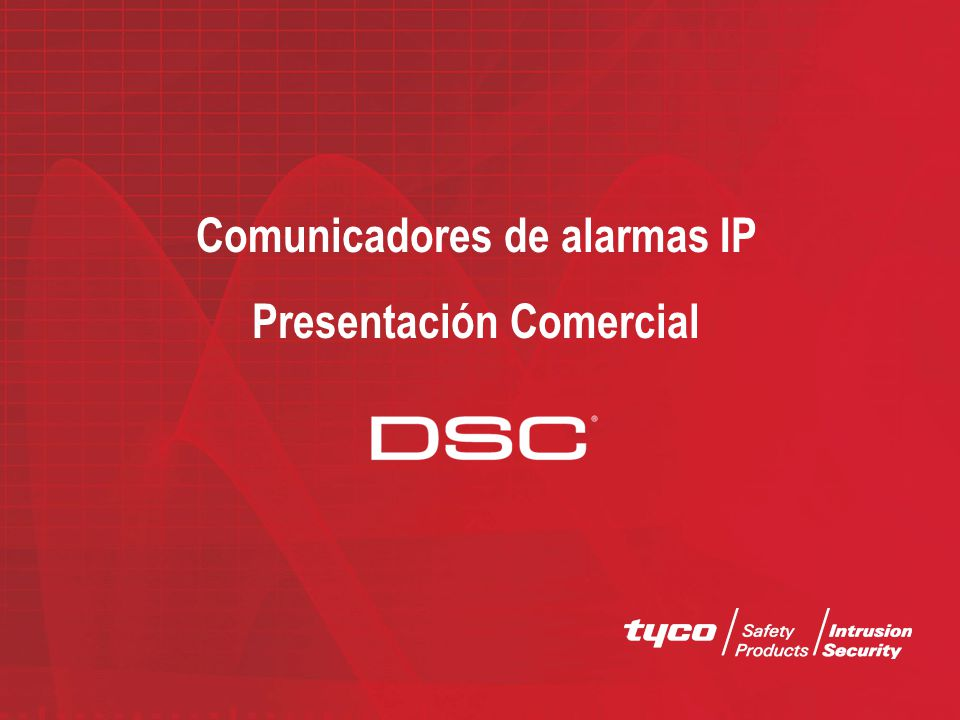Comunicadores de alarmas IP Presentación Comercial